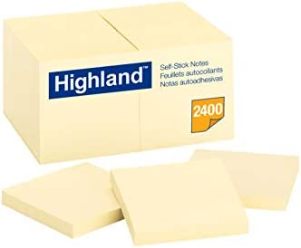 24-Pads/Pack Highland Notes, 3 x 3
