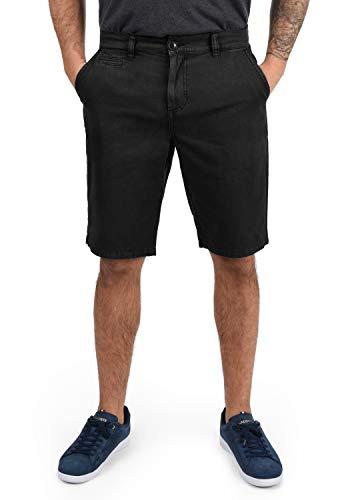 !Solid Viseu Herren Chino Shorts Bermuda Kurze Hose Aus 100% Baumwolle Regular Fit, Größe:M, Farbe:Black (9000)