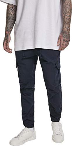 Urban Classics Herren Cargo Jogging Pants Hose, Blau (Navy 00155), L
