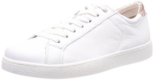 Tamaris Damen 23631 Sneaker, Weiß (White/Rose Met), 42 EU