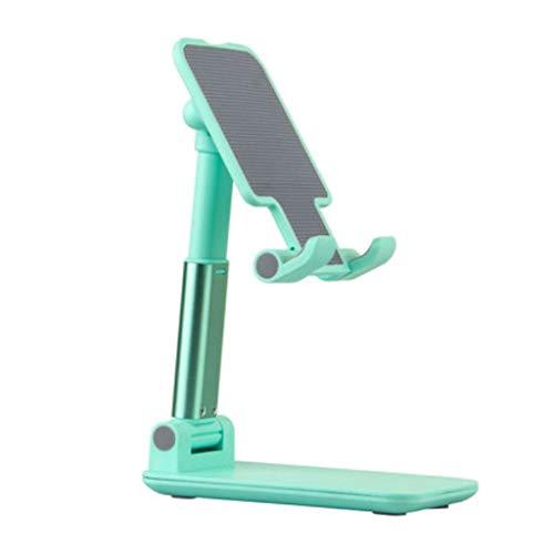 FZJDX Soporte para teléfono móvil de escritorio para transmisión en vivo en línea Lección Chase Drama Tablet Universal Plegable Soporte Estante (Color: B)