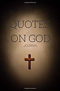 Quotes On God Journal College-Ruled Composition Notebook For Bible Study, Psalm Reading, Scripture Log, Prayer Diary, Church Notes: Lined Notepad With ... Faithful, Jewish & Christians Religion
