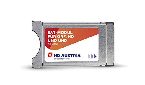 HD Austria CI Modul CAM701 HD Karte (ORF HD, ATV HD, PULS 4 HD, ORF-Freischaltung, über 80 HD Sender, Aufnahmefunktion, HD Austria TV-App, CI+ Steckplatz, einfache Installation)