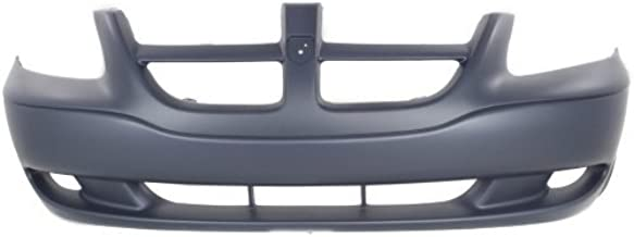 Front Bumper Cover Compatible with 2001-2004 Dodge Grand Caravan Caravan CARAVAN 01-04 FRONT BUMPER COVER Primed
