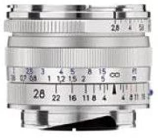 Zeiss 28mm f/2.8 T ZM Biogon Lens, for Zeiss Ikon & Leica M Mount Rangefinder Cameras, Silver