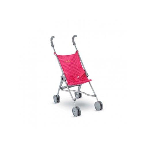 Corolle CLP83 - Sitzbuggy für Puppe Mon Classique, 36 cm, 42 cm, kirschrot