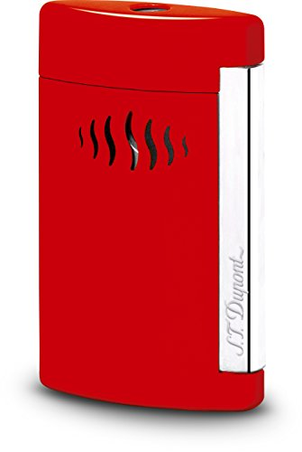 Review Of S.T. Dupont MINIJET 2 wild red Jet Lighter / 010510