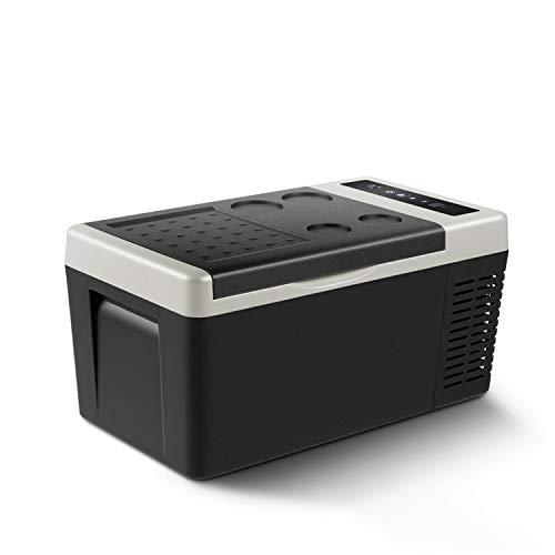 GNLIAN HUAHUA refrigerador 18L AC / DC12V24V Coche Refrigerador Camping portátil Picnic al Aire Libre Mini Frigorífico Compresor Congelador de Profundidad Caja de Enfriador para Viajar a Domicilio