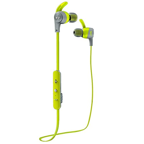 Monster iSport Achieve Bluetooth Wireless In-Ear Kopfhörer grün