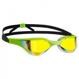 MAD WAVE Razor Rainbow Occhialini da Nuoto Specchiati - Verde