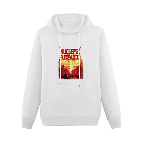 Changrong Youth Teen SweatshirtHoodie Nuclear Assault Game Over Thrash S.O.D. Anthrax Exodus Mod with GraphicHoodie