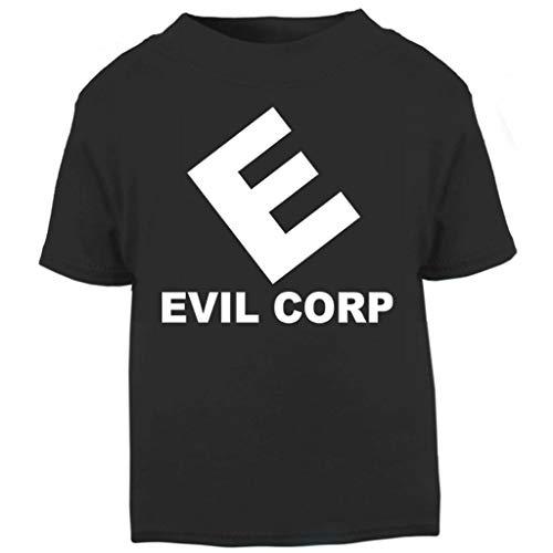 Cloud City 7 Evil Corp Logo Mr Robot Baby and Toddler Short Sleeve T-Shirt