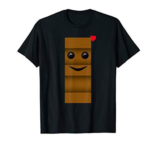 Herren Milch und Schokolade Partner Kostüm Für Ihn - Männer T-Shirt