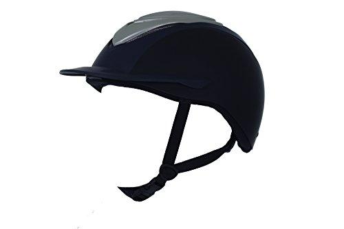 Lami Cell Reithelm, Helm, für Erwachsene (Blau, Schwarz, L (59cm-61cm))