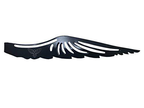 Flying Owl Zange aus rostfreiem Edelstahl | für Kohle | Premium Design mit optimaler Form