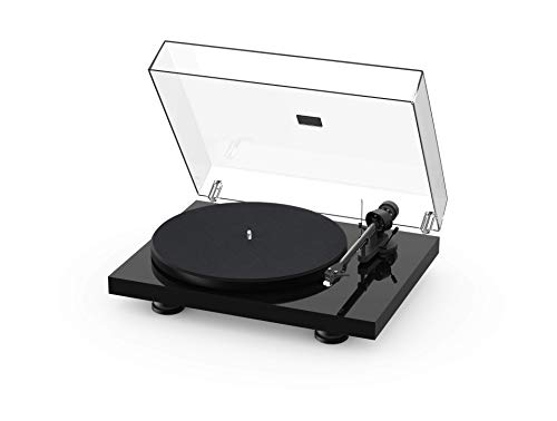 Pro-Ject Debut Carbon EVO, Audiophile Turntable with Carbon Fiber tonearm, Electronic Speed Selection and pre-Mounted Sumiko Rainier Phono Cartridge (Satin White)