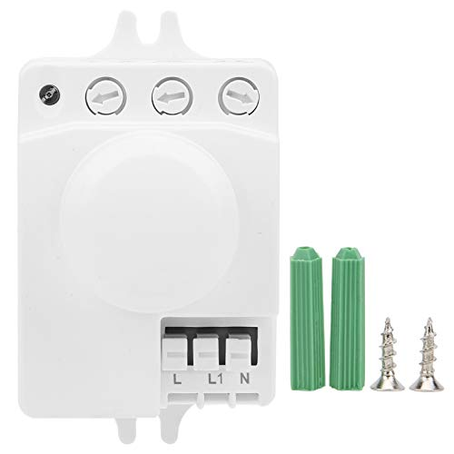 Mxzzand Interruptores de Sensor de Factor de Seguridad Alto Estable Sensor de Interruptor de microondas AC85-250V Tamaño pequeño con garantía de Calidad