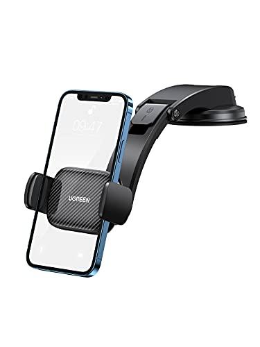 UGREEN KFZ Handyhalterung Auto Saugnapf Bombenfest 2 in 1 Universale Autohalterung Handy 360 Grad Smartphone Halterung Auto Handy Halterung PKW kompatibel mit iPhone 13 Galaxy Redmi Motorola Huawei LG