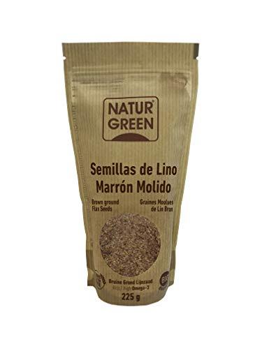 Natur Green Lino Marrón Molido Bio 225g