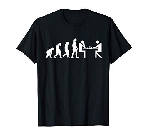 Juego de ajedrez Tablero de ajedrez Evolución Ajedrez Camiseta