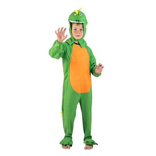 Bodysocks Fancy Dress Disfraz de Dinosaurio del Jurásico para Niños (7-9 años)