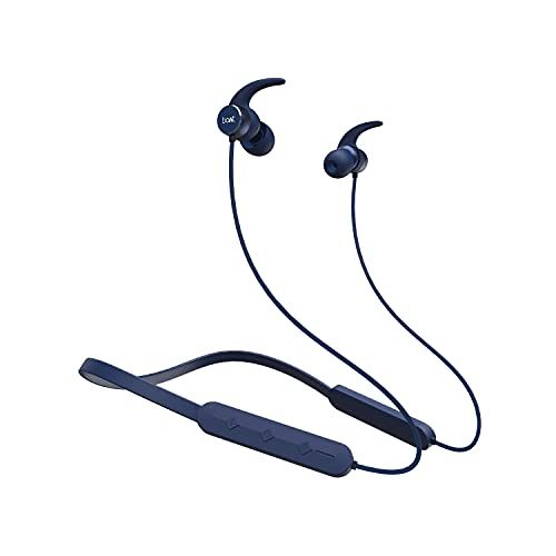 boAt Rockerz 255 Pro in-Ear Earphones with 10 Hours Battery, ASAP Charge, IPX5, Bluetooth V5.0 and Voice Assistant(Navy Blue)