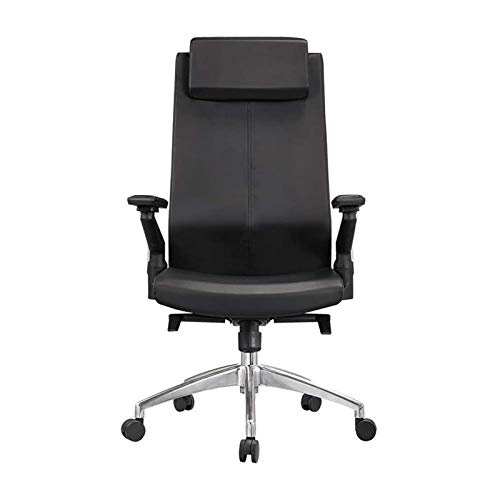 HJJWL Home Office Desk Chairs, Office Chairs,Gaming Chair Ergonomic Office Chair High Back Desk Chair Computer Chair Black Office Chair Padded Executive Office Chair Adjustable Manager Work Chair for