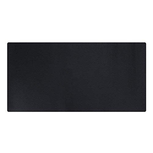 LiLan Sous-mains Bureau en Cuir PU, Tapis de Souris Grand (Noir, 120X60CM)
