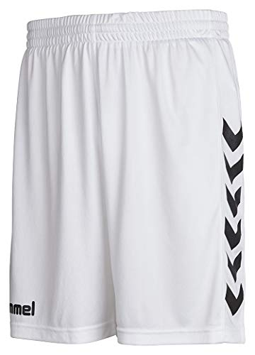 Hummel Herren Shorts CORE POLY, White, XL, 11-083-9001