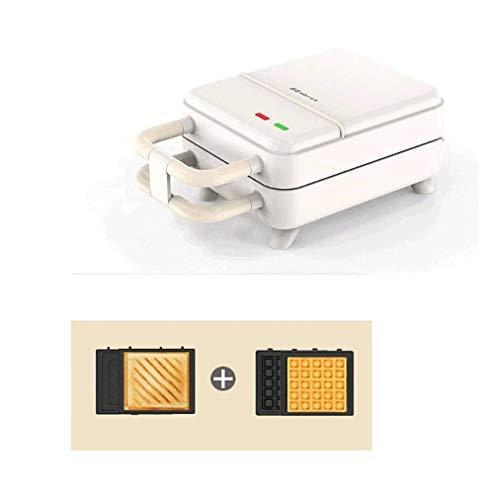 SMSOM Sandwichera, pequeño multi-functionWaffle Cafetera, Tostadora eléctrica y Panini Press Tortilla de...