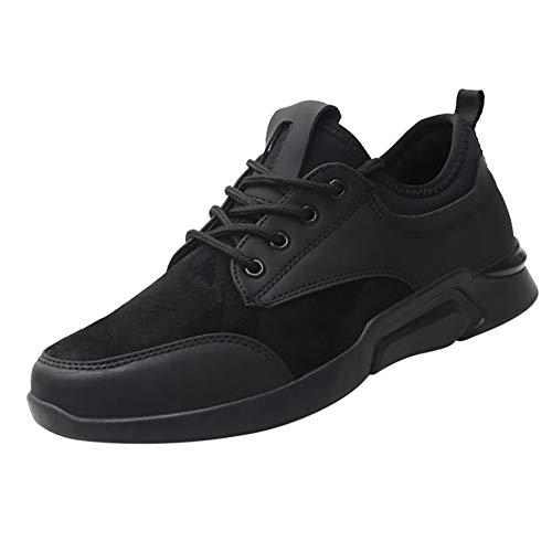 XJWDNX ademende lederen sneakers heren loopschoenen lichte outdoor wandelschoenen sportschoenen zachte zool heren