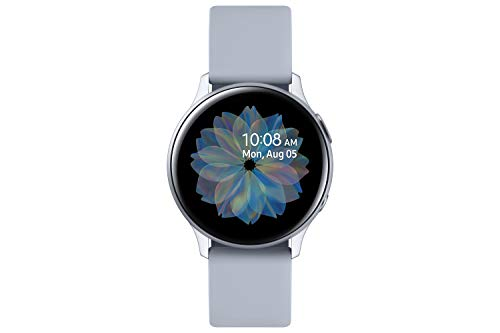 Samsung Galaxy Watch Active2 Aluminium, 40 mm, Bluetooth, Silber