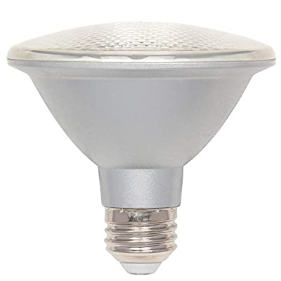 Westinghouse Lighting 5005100 10 (75-Watt Equivalent) PAR30 Short Neck Flood Dimmable Daylight Indoor/Outdoor Energy Star, Medium Base LED Light Bulb, Clear