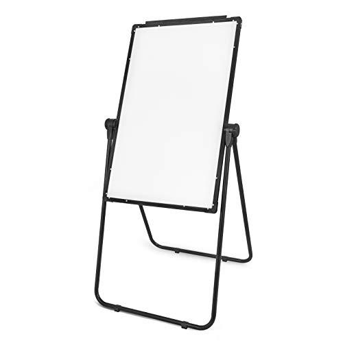 BananaB U-Stand Whiteboard 360 Grad doppelseitige magnetische weiße Tafel 60x 90 cm Whiteboard Faltbares Standtafel für Büro Hause Schule Labor