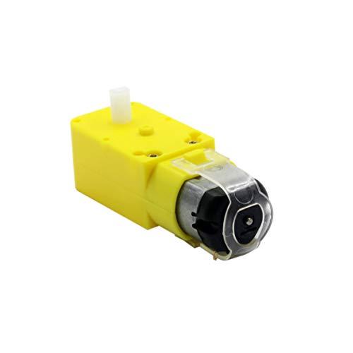 L-Yune,bolt 1PC TT Motor 130motor Smart Car Robot Gear Motor For Arduino Diy Kit Smart Car Chassis Motor/Robot Car Wheels (Size : 3V~12V DC)
