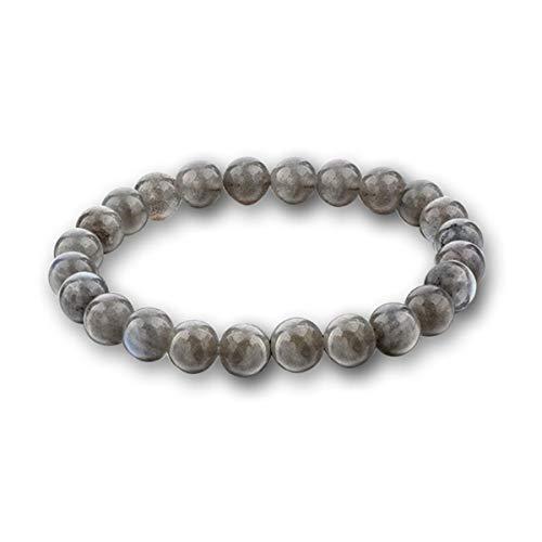 Braccialetti di Beads Bracciale Pietre Naturali Perle Bracciali Pietra Lavica Bangles Bracciale Alabastro ( Color : Glitter , Size : One Size )