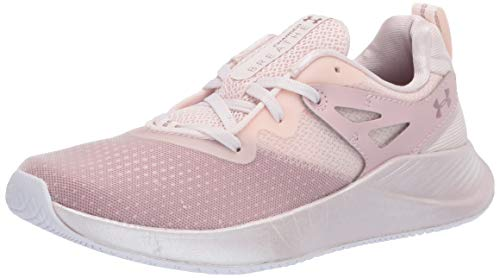Under Armour UA W Charged Breathe TR 2, Zapatillas Deportivas para Interior para Mujer, Gris (French Gray/Dash Pink/Hushed Pink), 40 EU
