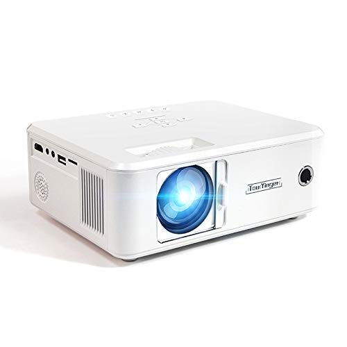 Buy Discount Video Projector, LED Projector Support 1080P 150 Display 30,000H LED Compatible with L...