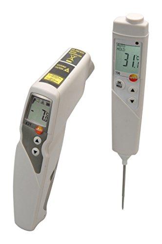 Set testo 831 Infrarot-und testo 106 Kerntemperatur-Messgerät