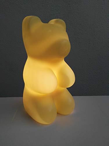 Dapo 12V Halogen Baeren-Deko-Party-Leuchte Gummibär 30 cm weiß Dekolampe Dekoleuchte