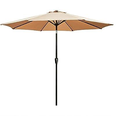 Tenozek 9Ft Market Umbrella Patio Outdoor Table...