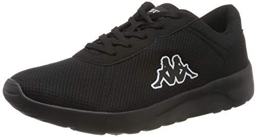 Kappa Herren Tunes OC Sneaker, Schwarz (Black 1111), 44 EU