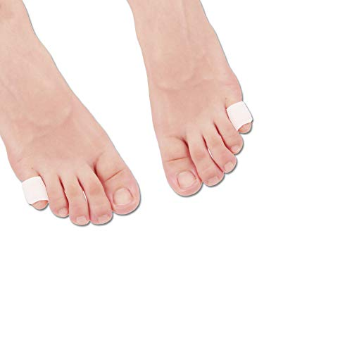 Gel Zehenschutzkappen Zehenschutz Zehenschutz * NEUES MATERIAL * für Blasen, Hühneraugen, Hammer Zehen, Eingewachsene Fußnägel, Zehennägel Verlust, Reibung Schmerzlinderung und mehr