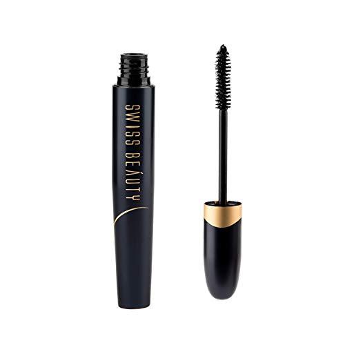 Swiss Beauty Bold Eye Super Lash Waterproof Mascara, Eye MakeUp, Black-01, 7.5ml