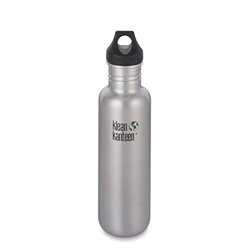 Klean Kanteen Edelstahlflasche Flasche Classic Loop - Set de Mantenimiento para Acampada, Talla...