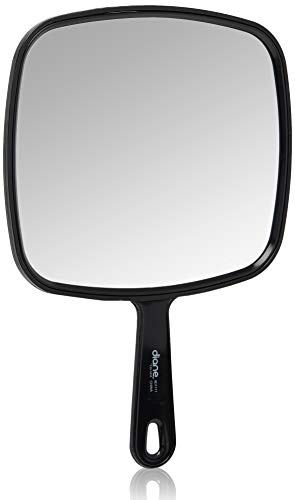 Diane TV Mirror, Large, Black, 9 x 12 Inches, 1 -
