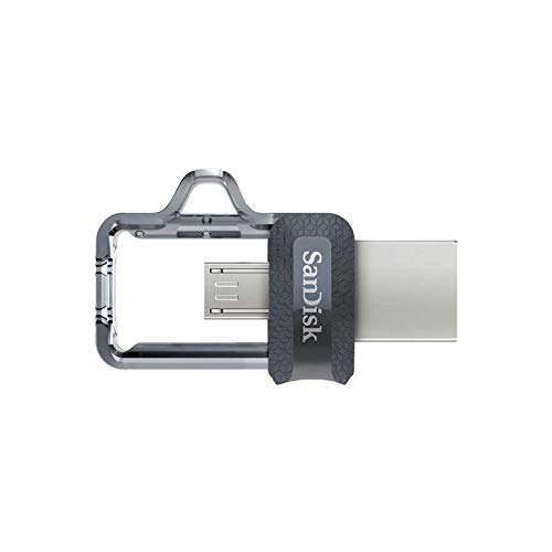 Memoria flash USB SanDisk Ultra Dual m3.0 de 32 GB con USB...