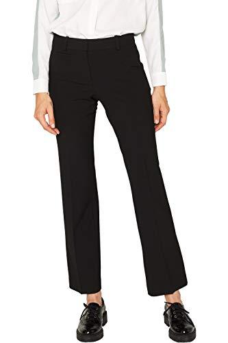 ESPRIT Damen 089Ee1B029 Hose, 001/BLACK, W34/L32(Herstellergröße: 34/32)