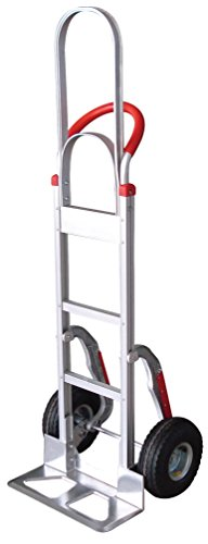 Tyke Supply Aluminum Stair Climber Hand Truck with Extra Tall Handle (Air Tire)