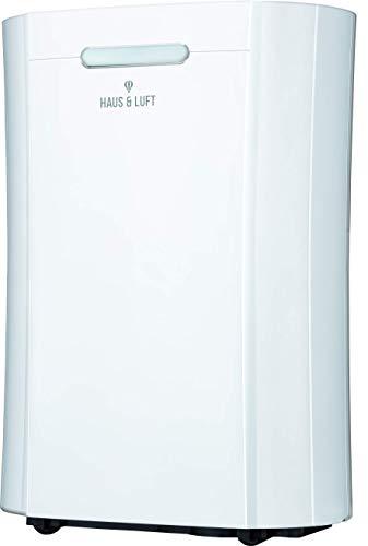 Haus & Luft HL-OS-10 Deshumidificador Eléctrico, 365 W, 2 litros, 50 Decibeles, ABS, 3 Velocidades, Blanco